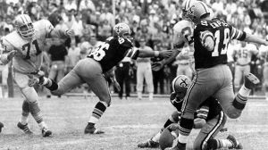 Tom Dempsey's famous kick November 8, 1970